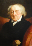 Gilbery Stuart Portrait of John Adams Historical Art Print Poster Masterprint