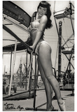 Bettie Page Amusement Park Archival Photo Poster Print Poster