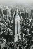 Empire State Building New York City Archival Photo Poster Print Masterprint
