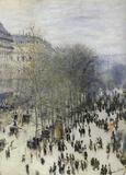 Claude Monet (Boulevard Des Capucines) Art Poster Print Masterprint