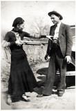 Bonnie and Clyde Archival Photo Poster Print Photo