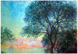 Claude Monet Antibes Seen from La Salis Art Print Poster Prints