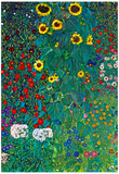 Gustav Klimt Garden with Crucifix 2 Detail  Art Print Poster Prints