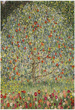 Gustav Klimt (Apple Tree) Art Poster Print Print