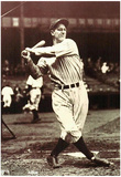 Lou Gehrig Swing Archival Photo Sports Poster Print Posters
