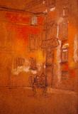 James Whistler Venetian Courtyard Art Print Poster Masterprint