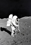 Moon Landing Astronaut Archival Photo Poster Print Masterprint