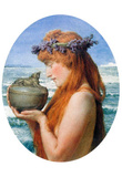 Lawrence Alma-Tadema Pandora Art Print Poster Masterprint
