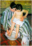 Mary Cassatt The Bath Art Print Poster Posters
