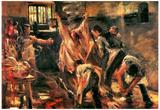 Lovis Corinth Slaughterhouse Art Print Poster Photographie