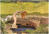 Giovanni Segantini The Vanity Art Print Poster Prints