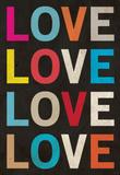 Love (Colorful) Art Poster Print Masterprint
