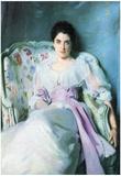 John Singer Sargent Lady Agnew Art Print Poster Posters