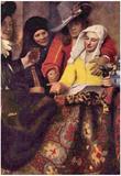Johannes Vermeer Kupplerin Matchmaker Art Print Poster Prints