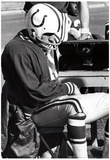 Johnny Unitas On Sidelines Archival Photo Sports Poster Print Posters