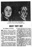 Julius and Ethel Rosenberg Case (Newspaper Article) Art Poster Print Posters
