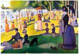 Georges Seurat Sunday at La Grande Jatte Art Print Poster Prints