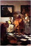 Johannes Vermeer Musical Trio Art Print Poster Prints