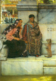 Lawrence Alma-Tadema At the time of Constantine Art Print Poster Masterprint