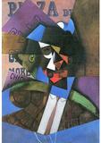 Juan Gris Torero Art Print Poster Masterprint