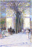 Childe Hassam Washington Triumphal Arch in Spring Art Print Poster Photo