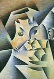 Juan Gris Portrait of the Mother of the Artist Cubism Art Print Poster Masterprint