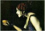 Franz von Stuck Tilla Durieux as Circe Art Print Poster Print