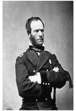 General William Sherman (Portrait) Art Poster Print Prints