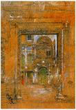 James Whistler San Giovanni Apostolo et Evangelista Art Print Poster Posters