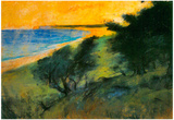 Leo Lesser Ury Coast of Rugen Art Print Poster Posters