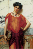 John William Godward Drusilla Art Print Poster Prints