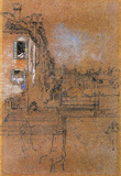 James Whistler Venetian Canal Art Print Poster Masterprint