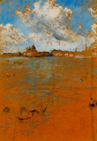 James Whistler Venetian Scene Art Print Poster Masterprint