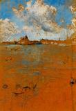 James Whistler Venetian Scene Art Print Poster Masterprint