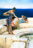 Lawrence Alma-Tadema Silver Favorites Art Print Poster Masterprint
