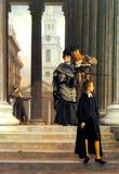 James Tissot Visitors in London Art Print Poster Masterprint