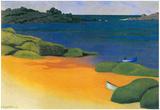 Felix Vallotton The Bay of Trégastel ArtPrint Poster Prints