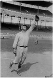 Jim Thorpe Reaching to Make a Catch for the New York Giants Archival Photo Poster Print Prints
