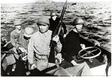 Jack Dempsey on Boat Archival Photo Poster Print Prints