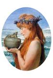 Lawrence Alma-Tadema Pandora Art Print Poster Posters
