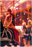 James Tissot The Women in the Cars Art Print Poster Prints