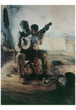 Henry Tanner (Banjo Lesson) Art Poster Print Photo