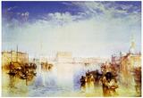 Joseph Mallord Turner San Giorgio Venice Art Print Poster Posters