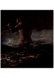 "Francisco de Goya y Lucientes (The colossus (or ""panic"")) Art Poster Print Prints"