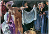 Lovis Corinth The Witches Art Print Poster Poster