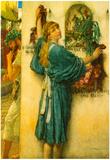 Lawrence Alma-Tadema A Road Altar Art Print Poster Poster