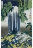 Katsushika Hokusai (Yoro Waterfall, Mino Province) Art Poster Print Posters