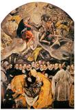 El Greco L'Enterrement du Comte d'Orgaz Art Print Poster Plakater