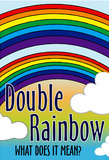 Double Rainbow What Does It Mean Art Print Poster Masterprint