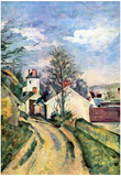 Paul Cezanne House of Dr Gachet Art Print Poster Posters